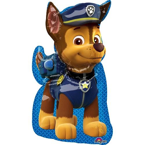 Folieballon supershape Chase Paw Patrol