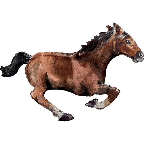 Folieballon supershape paard