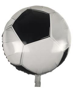 Folieballon voetbal 45cm