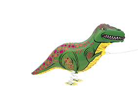 Folieballon Walking dinosaurus