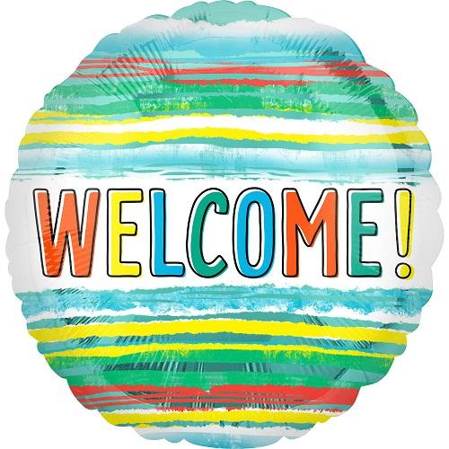 Folieballon welcome!
