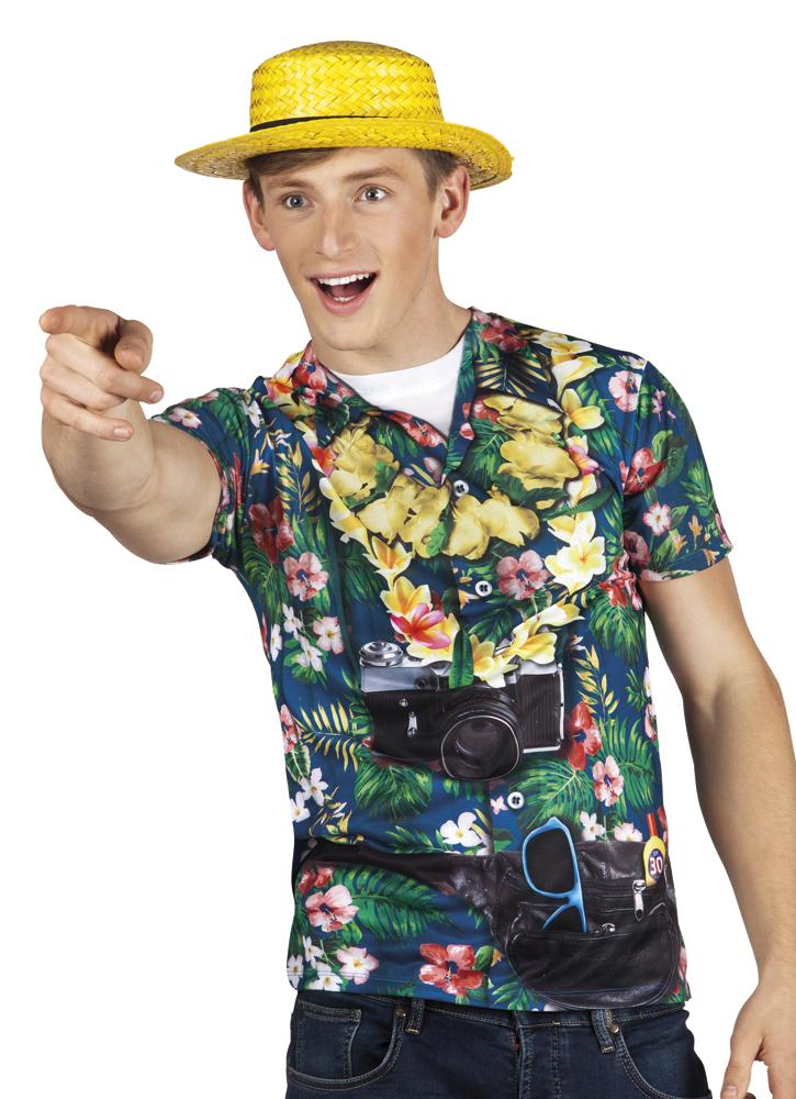 Fotorealistisch shirt Tourist - Extra Large