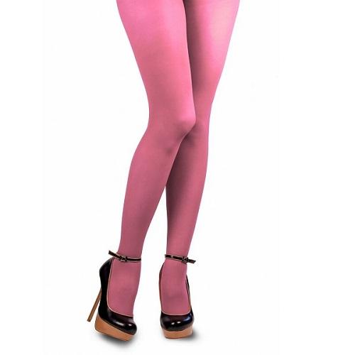 Gekleurde Piet panty baby roze L/XL
