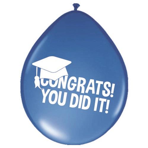 Geslaagd ballonnen Congrats! You did it!