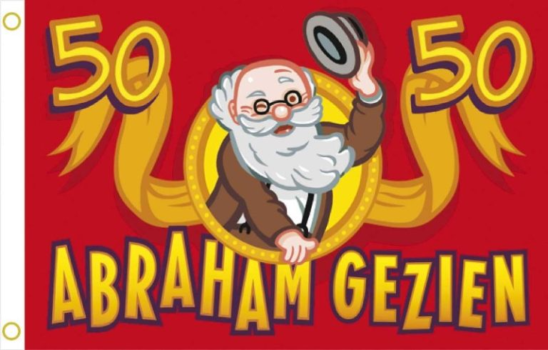 Gevelvlag Abraham rood