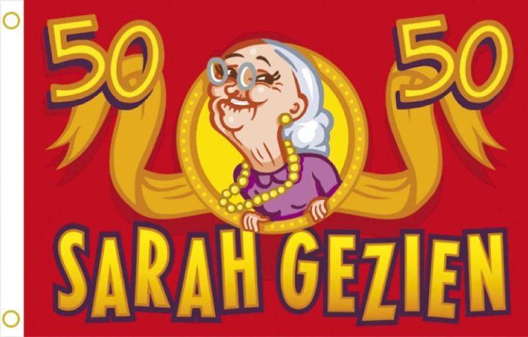 Gevelvlag Sarah rood