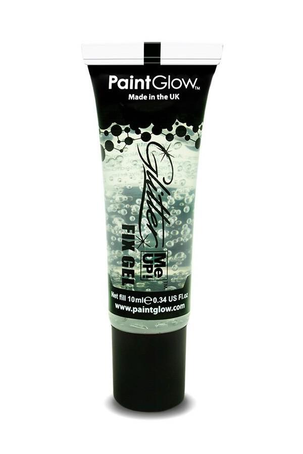 Glitter fix gel paint glow