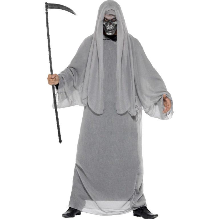 Grim reaper kostuum met masker- medium