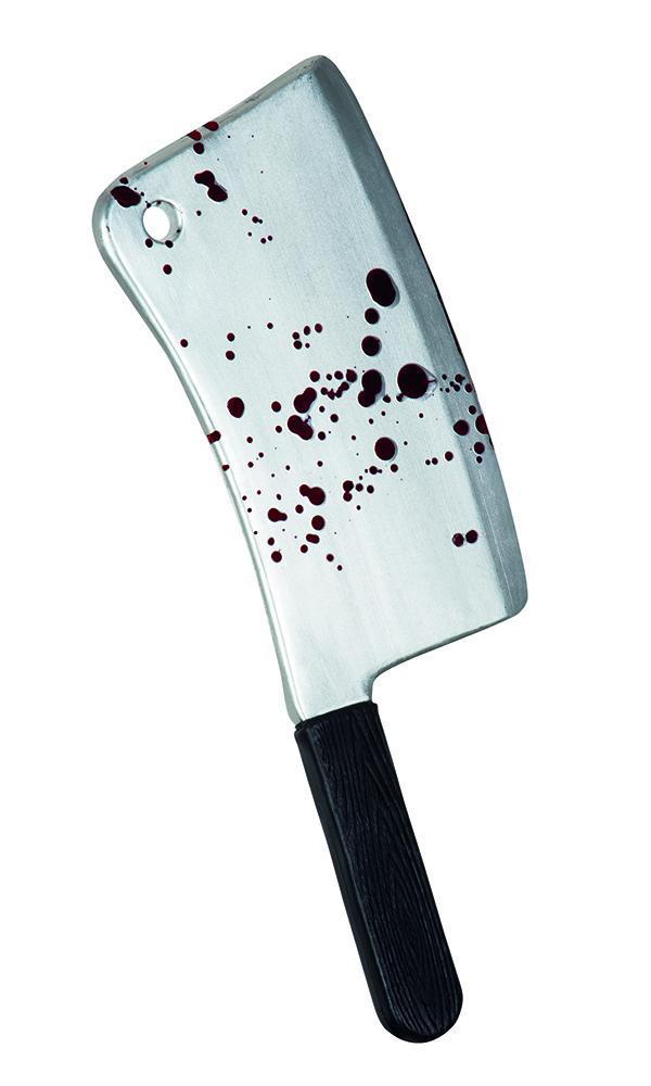Hakmes bloedspetters