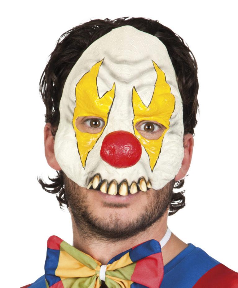 Half masker clown