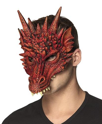 Halfmasker draak