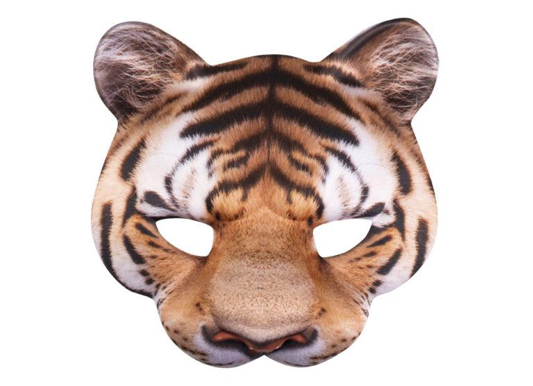 Halfmasker tijger