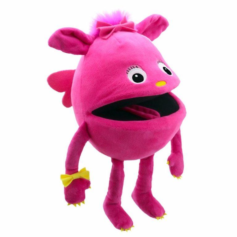 Handpop 20cm baby monster roze