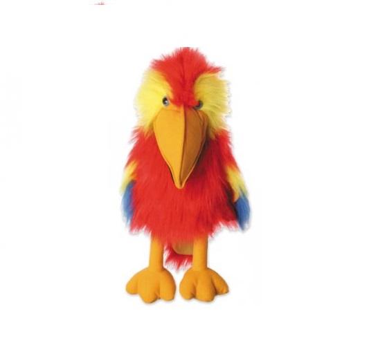 Handpop 45cm Scarlet Macaw
