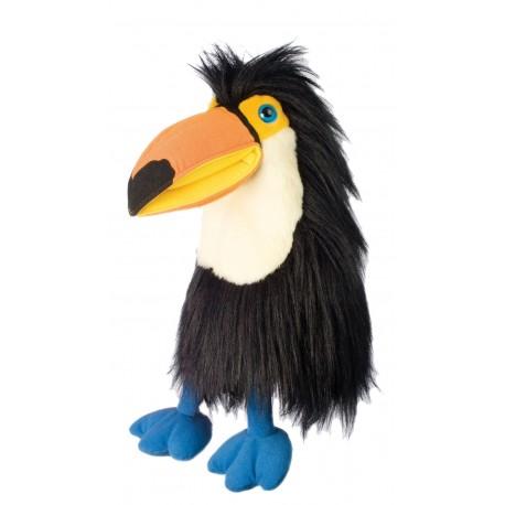 Handpop 45cm vogel Toucan