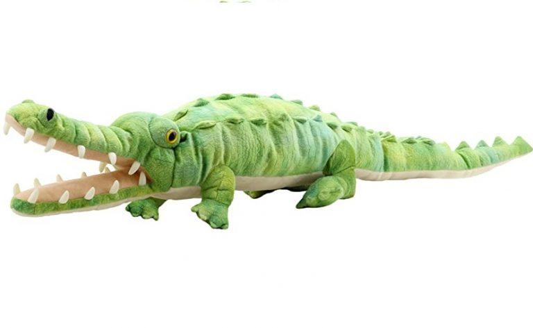 Handpop 80cm Krokodil