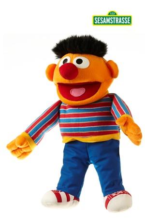 Handpop Sesamstraat Ernie 35cm