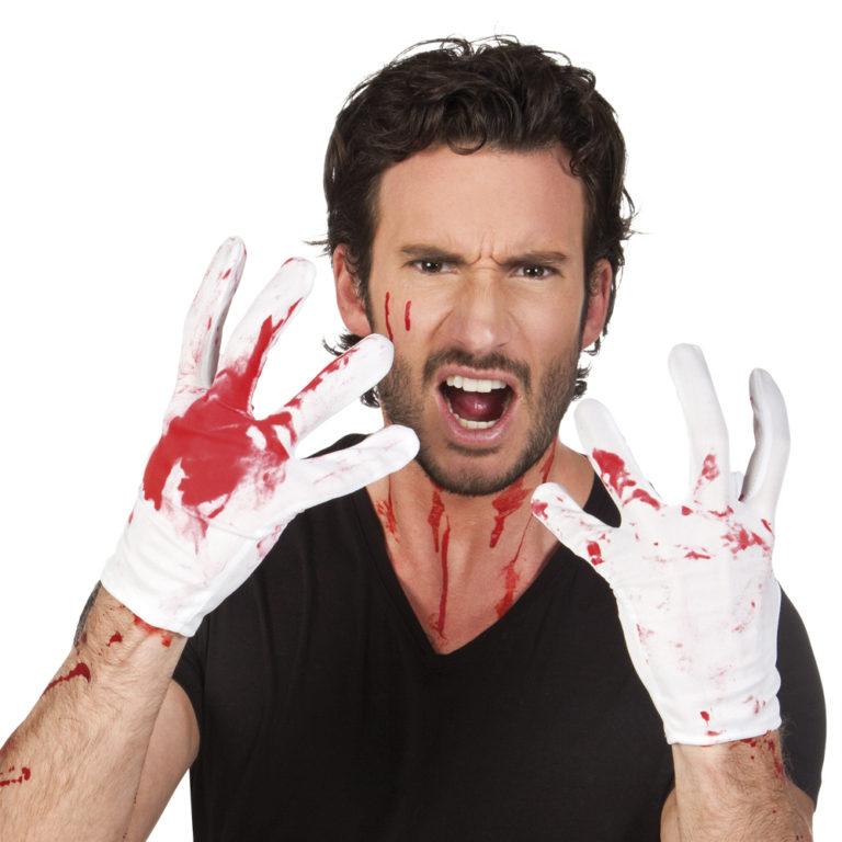 Handschoenen bloody