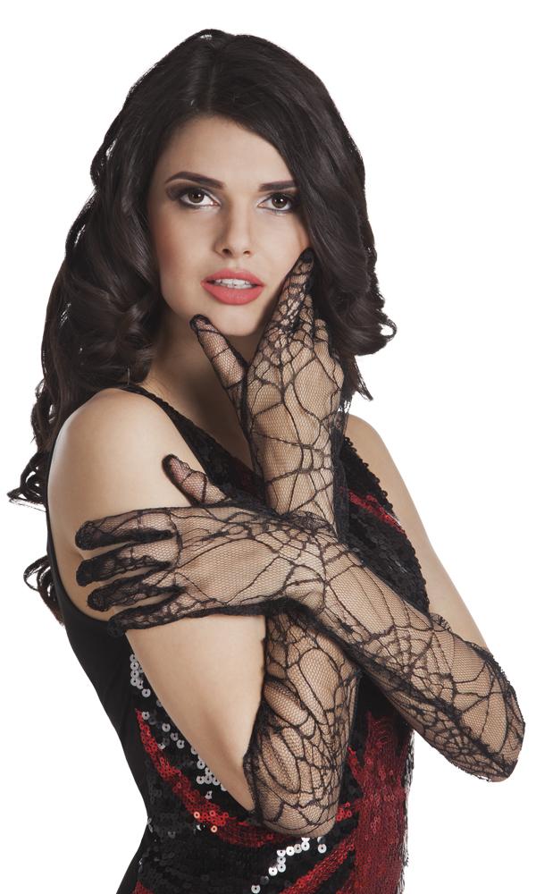 Handschoenen spinnenweb