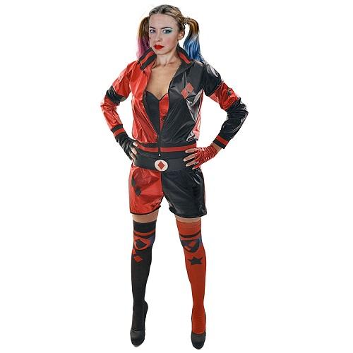 Harley Quinn kostuum volwassen - S