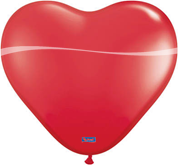 Hart 6 inch rood 100st