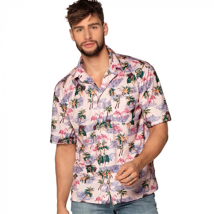 Hawaii blouse Flamingo - Large