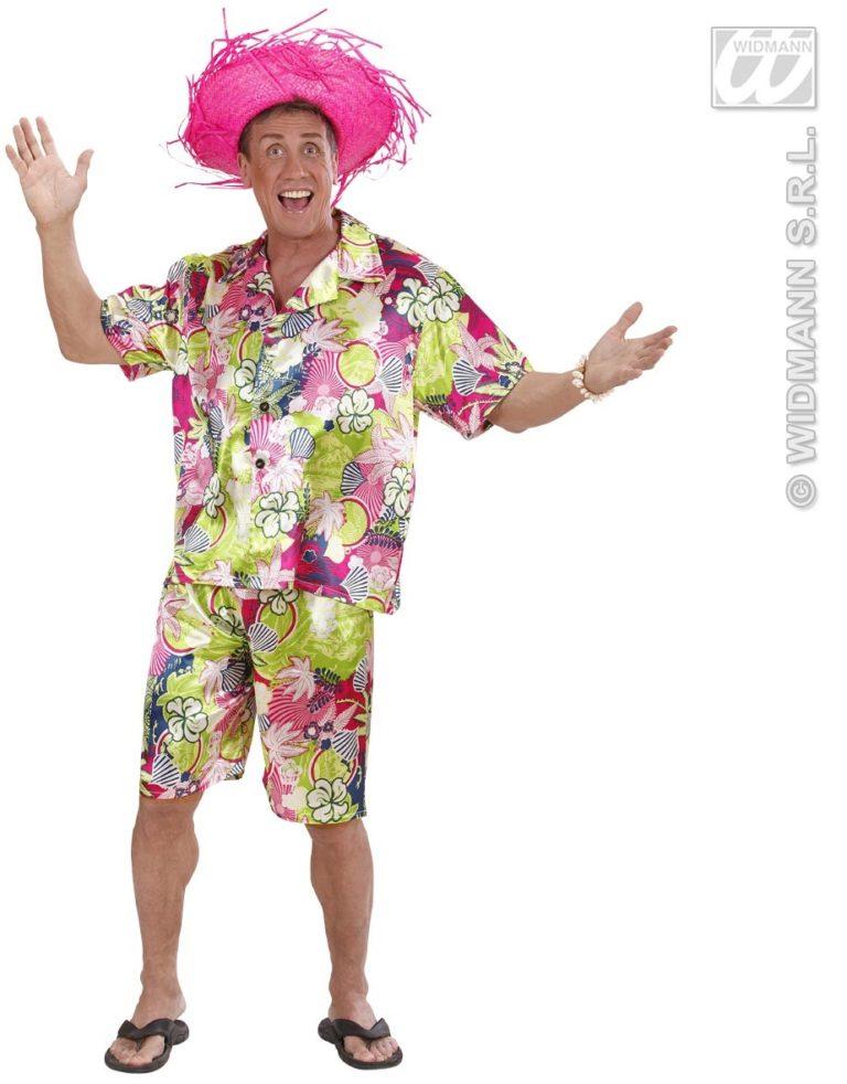 Hawaii blouse met broek - Large