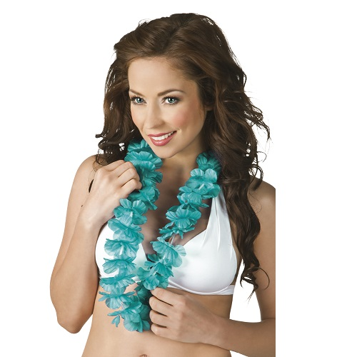 Hawaii krans turquoise