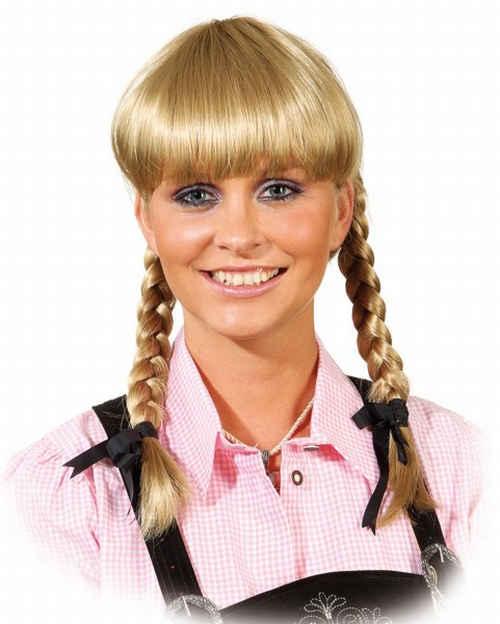 Heidi pruik luxe Lena midden blond