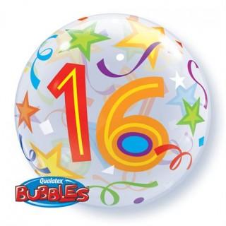 Helium ballon Bubbles 16 56cm