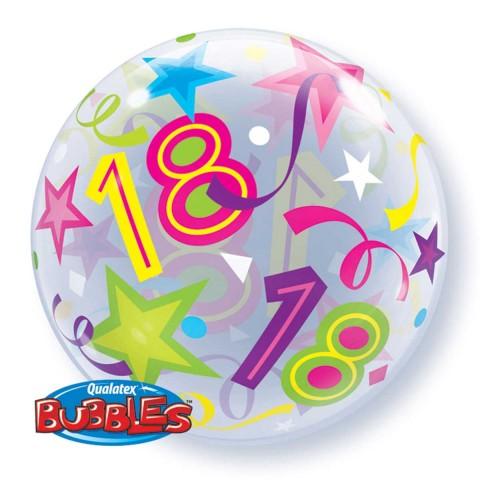 Helium ballon Bubbles 18 56cm