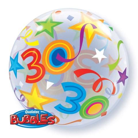 Helium ballon Bubbles 30 56cm