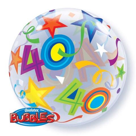 Helium ballon Bubbles 40 56cm