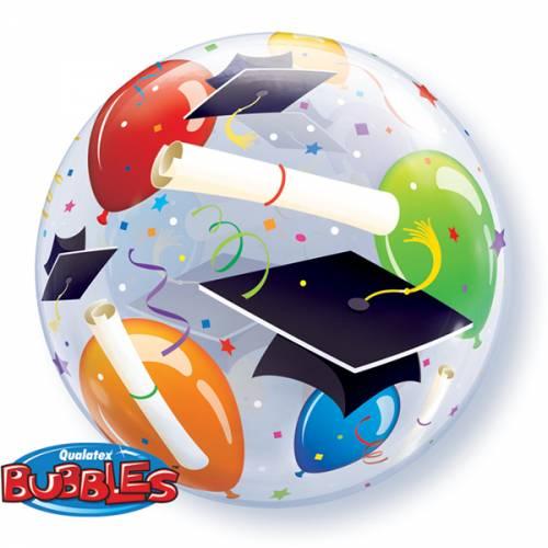Helium ballon Bubbles geslaagd
