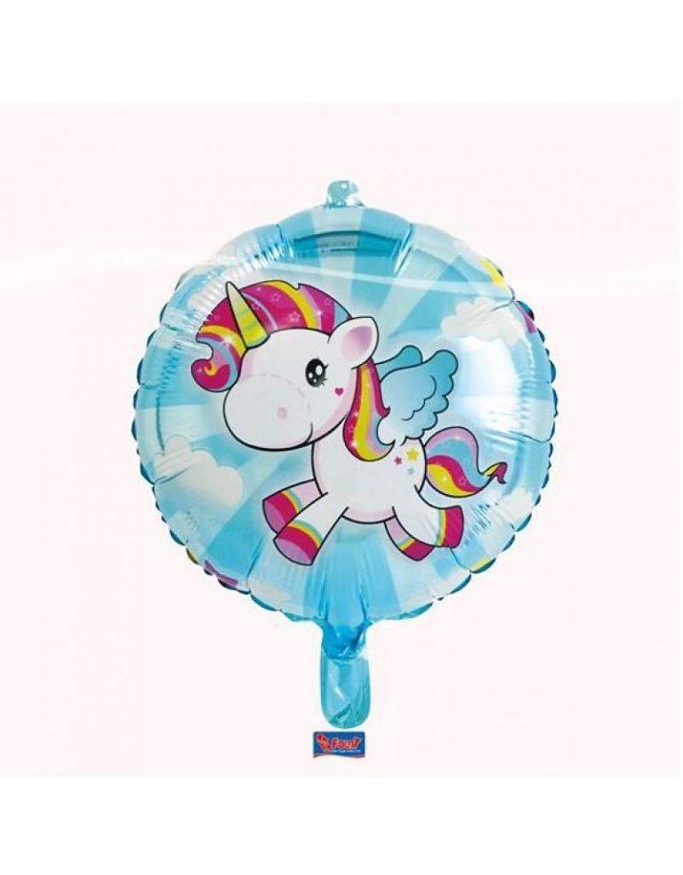 Helium Ballon Eenhoorn 45cm