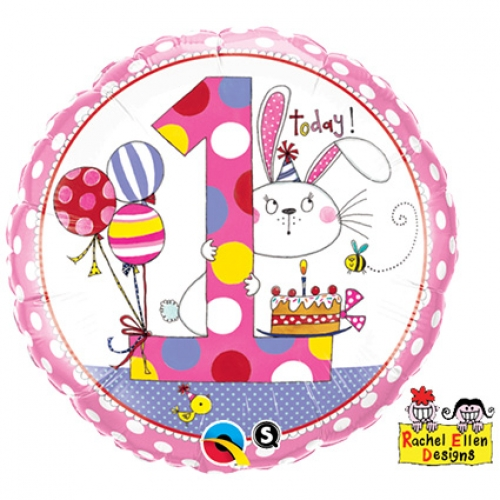 Helium ballon Rachel Ellen 1 Meisje