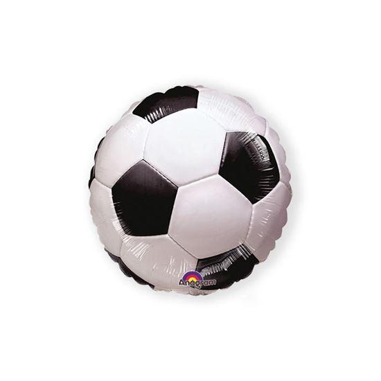 Helium ballon voetbal 45 cm