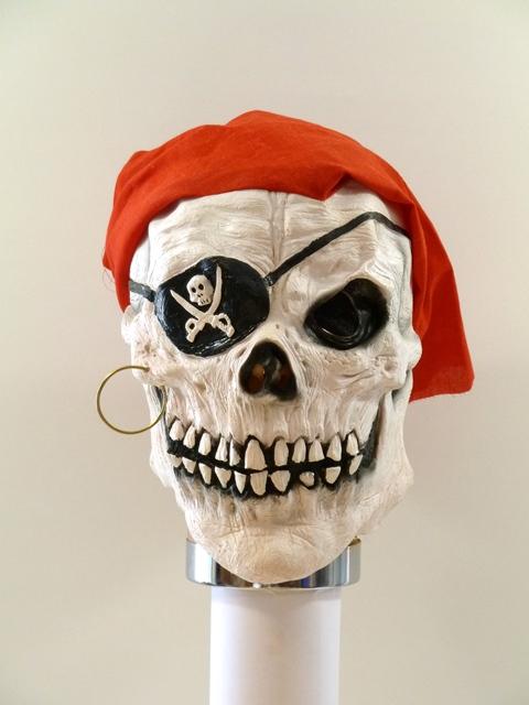 HM masker Piraat skelet