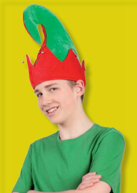 Hoed Elf Yule