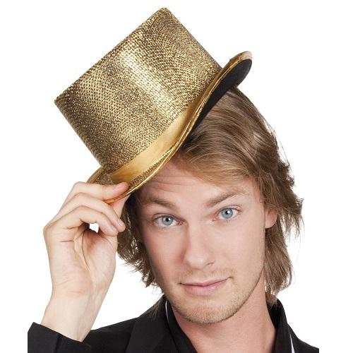 Hoge hoed goud
