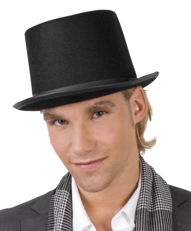 Hoge hoed vilt Colin