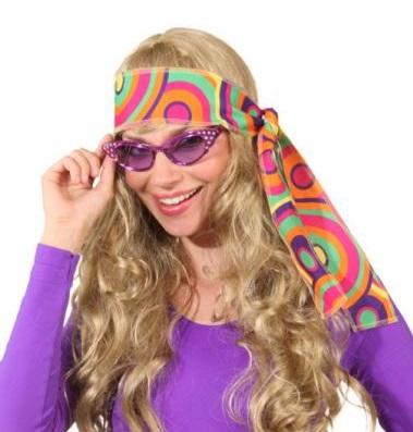 Hoofdband hippie crazy