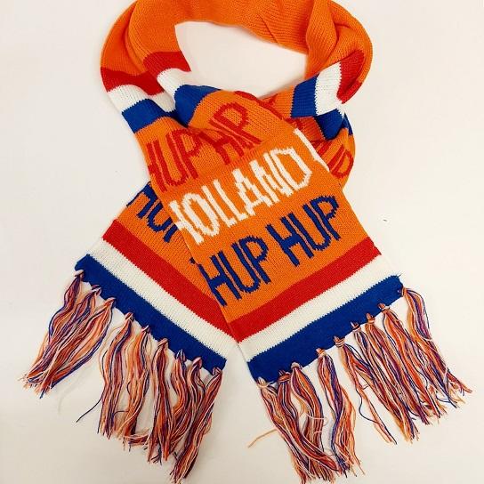 Hup holland hup sjaal rood, wit,blauw en oranje