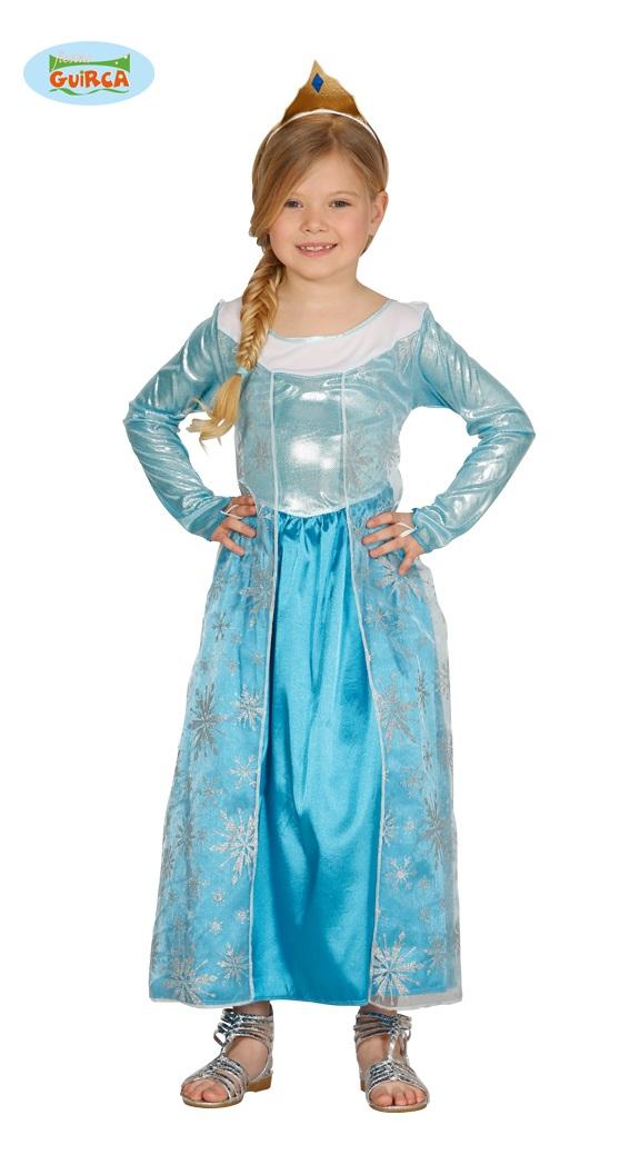 IJsprinses jurk - 3-4 jaar
