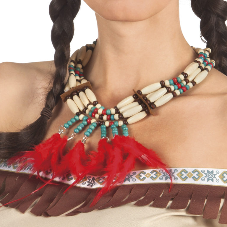 Indianen ketting Squaw
