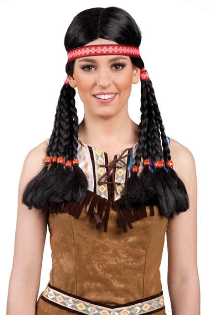 Indianen pruik Makawee
