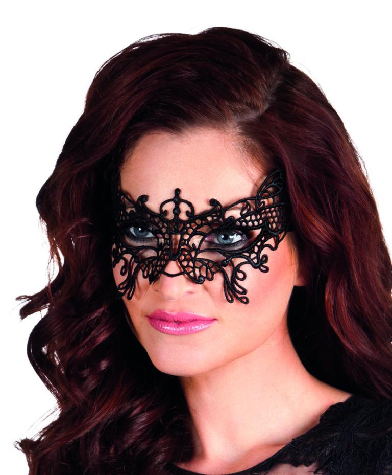 Kanten oogmasker Papillon
