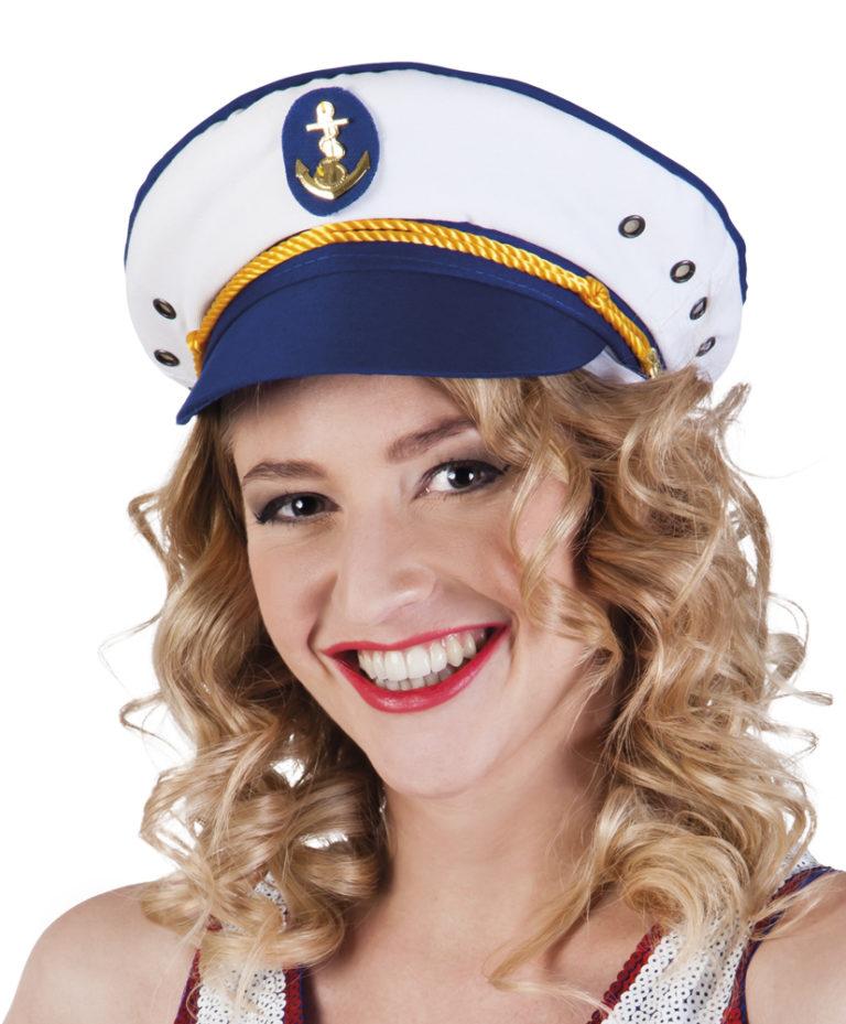 Kapiteinspet blauw