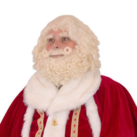 Kerstman baarden en Pruiken