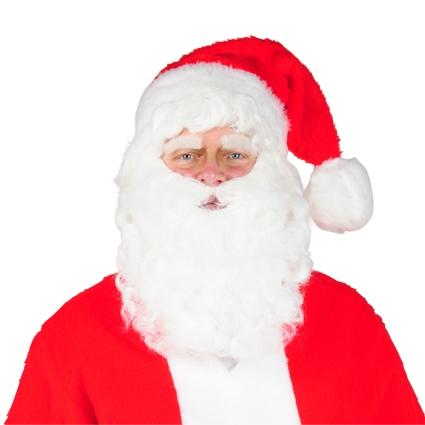 Kerstman baardstel kinzak